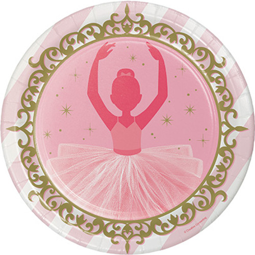 "Twinkle Toes 9"" Dinner Plates"