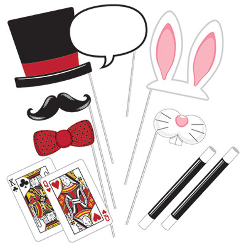Magic Party Photo Booth Props