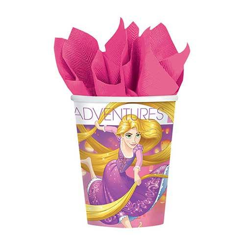 Rapunzel Paper Cups 8pcs/pack