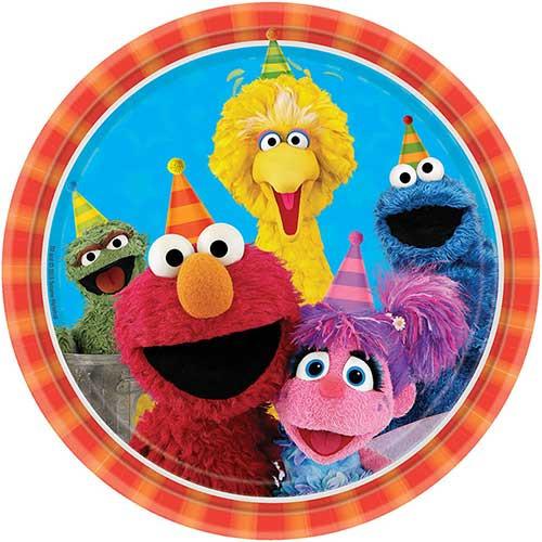 """Sesame Street 9"""" Dinner Plates"""