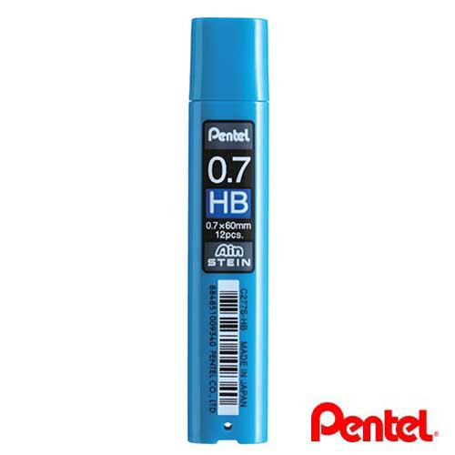 Pentel Ain Stein Pencil Lead 0.7mm HB 12pcs/tube