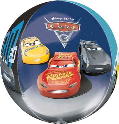 "16"" Disney Cars 3 Orbz Balloon"