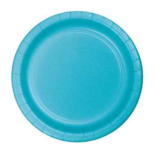 "Bermuda Blue 7"" Dessert Plates"
