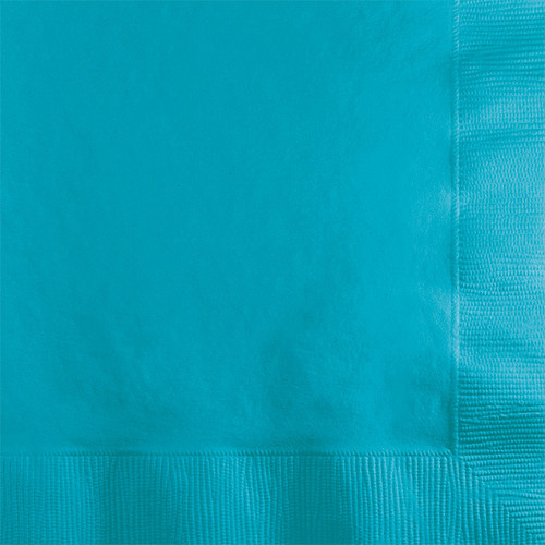 Bermuda Blue 2-Ply Beverage Napkins