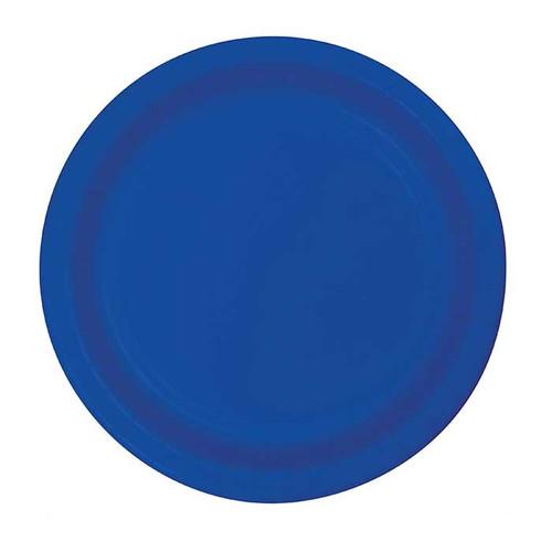 """Cobalt Blue 7"""" Dessert Plates"""