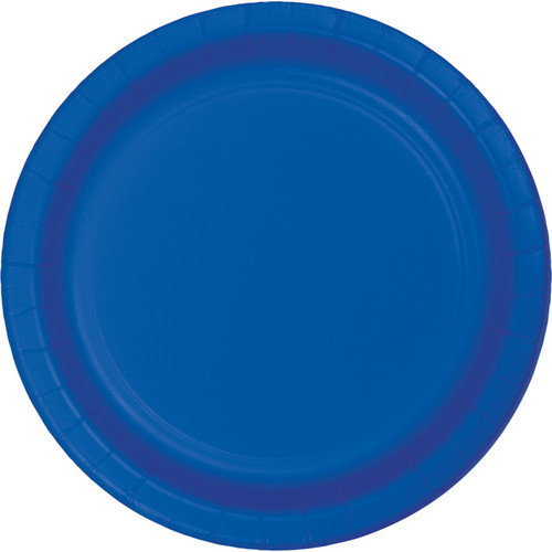 "Cobalt Blue 9"" Dinner Plates"