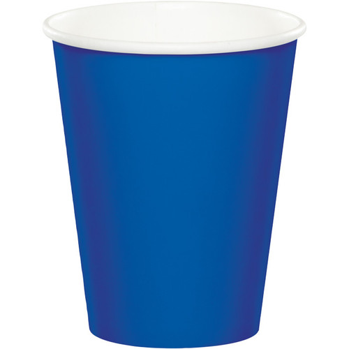 Cobalt Blue 9 Oz Hot/Cold Cup