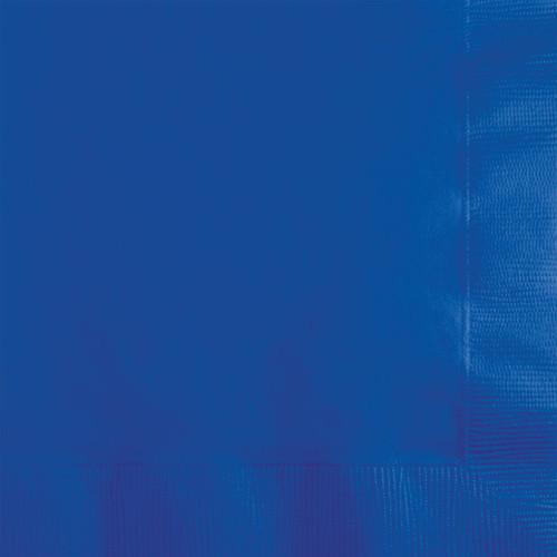 Cobalt Blue 2-Ply Beverage Napkins