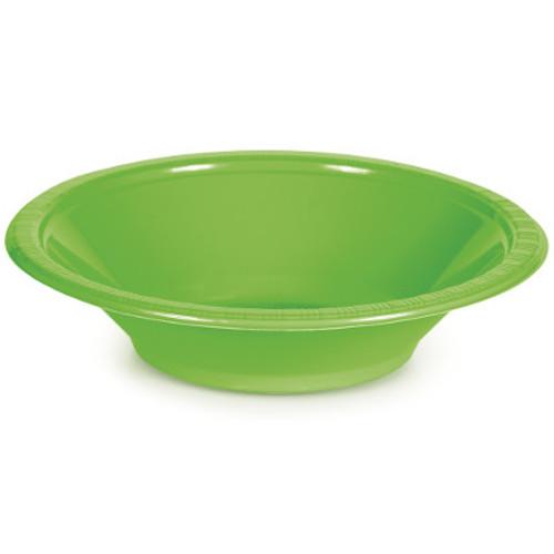 Lime Green 12 Oz Plastic Bowls