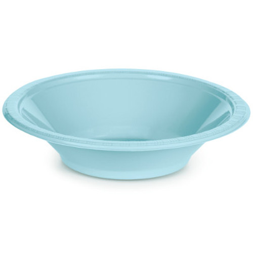 Light Blue 12 Oz Plastic Bowls