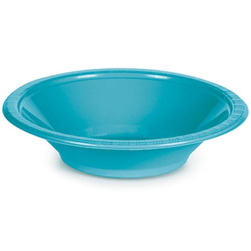 Bermuda Blue 12 Oz Plastic Bowls