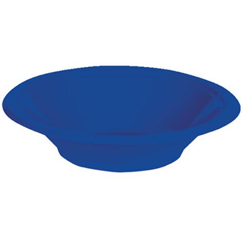 Cobalt Blue 12 Oz Plastic Bowls