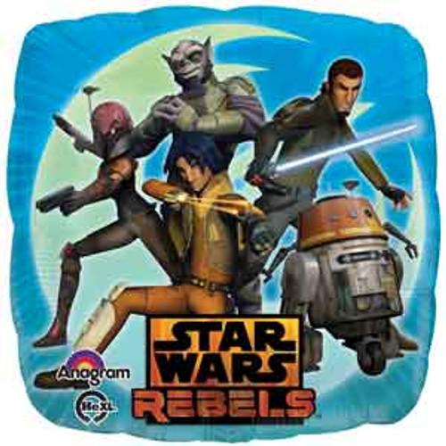 "17"" Star Wars Rebels Square Balloon"