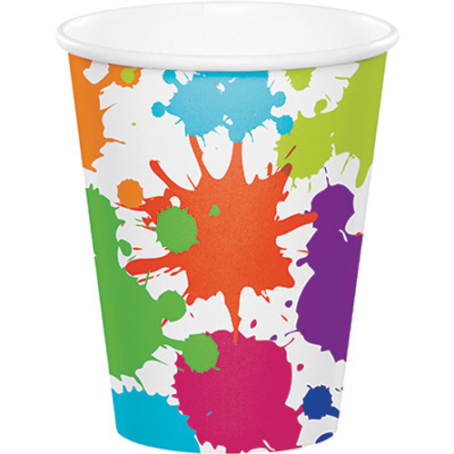 Art Party 9 oz. Hot/Cold Cups