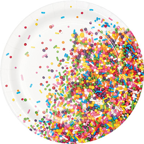 "Sprinkles 7"" Lunch Plates"