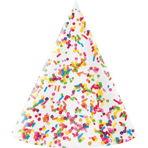 Sprinkles Adult Size Hats