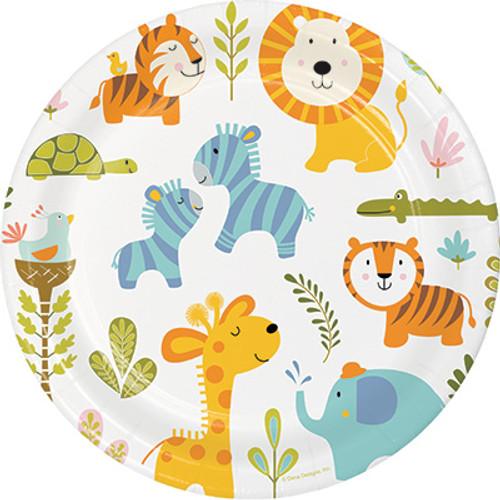 "Happi Jungle 9"" Dinner Plates"