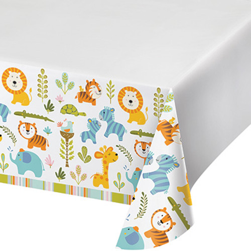 Happi Jungle Plastic Tablecover