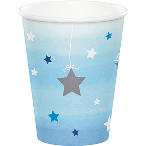 One Little Star Boy 9 oz. Hot/Cold Cups