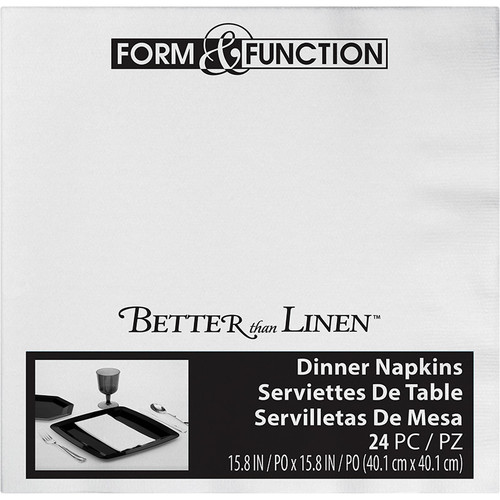 White Premium Dinner Napkins