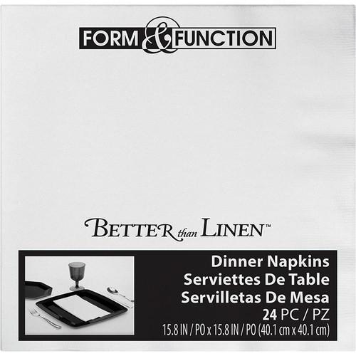 White Premium Dinner Napkins