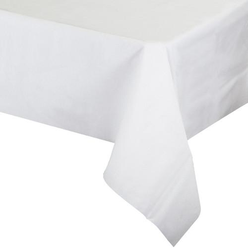 "White Premium 50""x 108"" Tablecover"