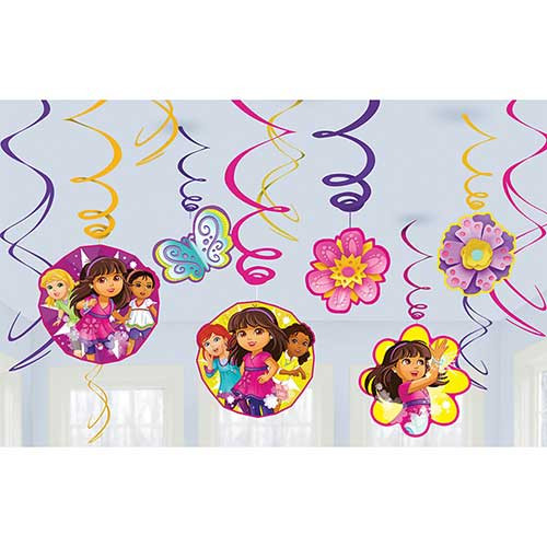 Dora and Friends Swirl Danglers 12pcs/pack