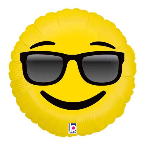 "18"" Emoji Sunglasses Balloon"