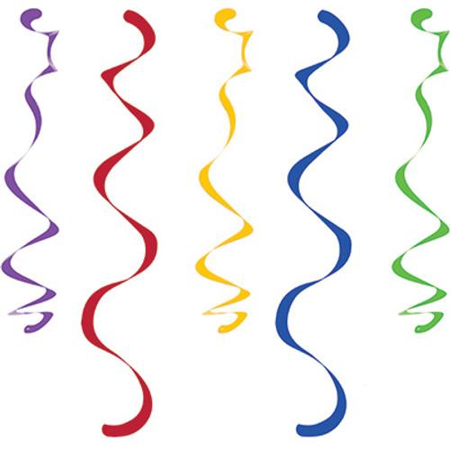 Multicolor Dizzy Danglers