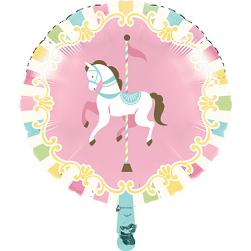 "18"" Carousel Foil Balloon"