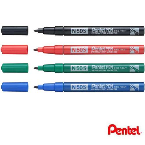Pentel Pen Fine Point Permanent Marker N50S