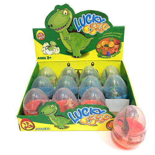 Capsule Egg Dinosaur Toy 12pcs/box