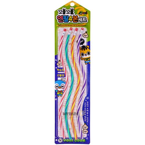 Bendable Pencil 4pcs/pack