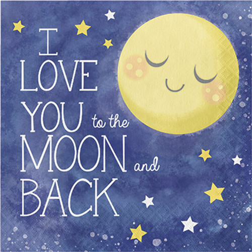Moon and Back Lunch Napkins