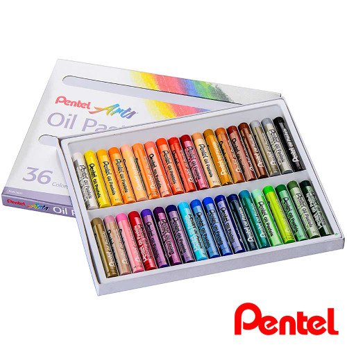 Pentel Oil Pastel 36 Colors