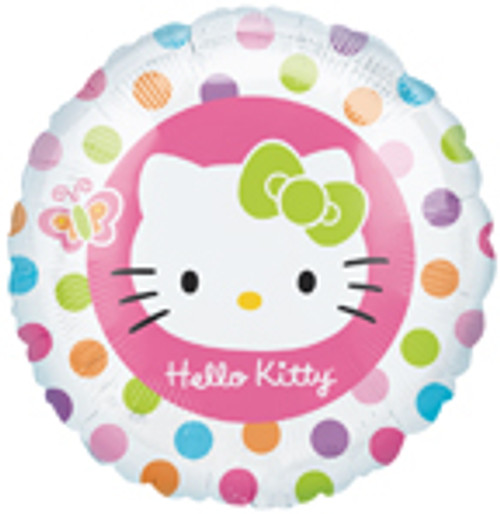 "18"" Hello Kitty Rainbow Balloon"