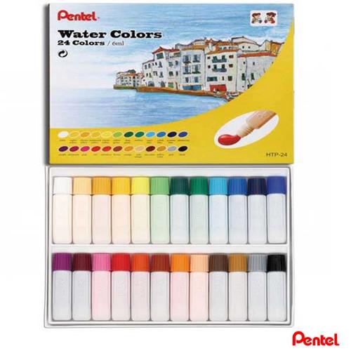 Pentel Water Colors 24 colors/box