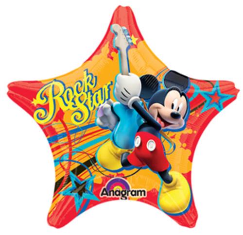 "17"" Mickey Rock Star Shape Balloon"