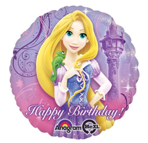 """17"""" Disney Tangled Sparkle Birthday Balloon"""