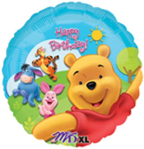 "18"" Pooh & Friends Sunny Birthday Balloon"