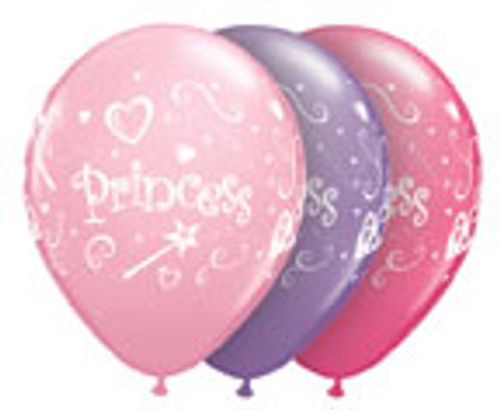 "11"" Princess Latex Balloon"