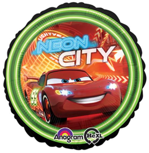"17"" Disney Cars Neon City Balloon"