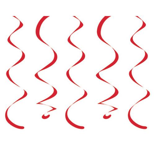 Red Dizzy Danglers