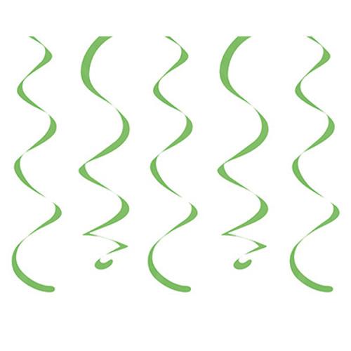 Lime Green Dizzy Danglers