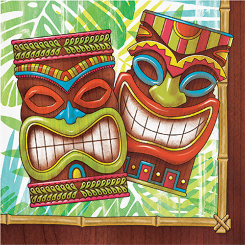 Tiki Time 2-Ply Lunch Napkins