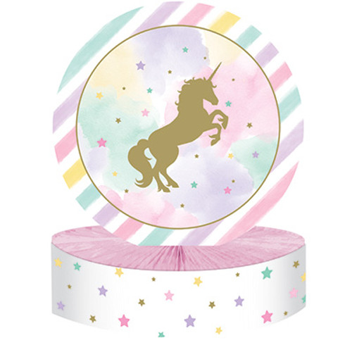 Unicorn Sparkle Honeycomb Centerpiece