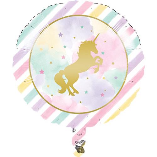 """18"""" Unicorn Sparkle Foil Balloon"""