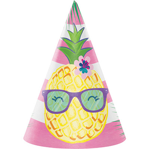 Pineapple N Friends Child Cone Hats