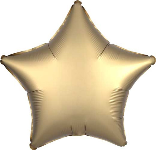 "19"" Satin Luxe Gold Star Foil Balloon"