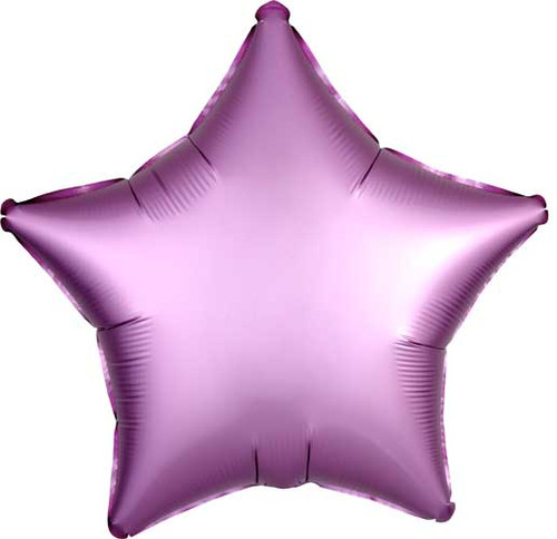 "19"" Satin Luxe Flamingo Star Foil Balloon"
